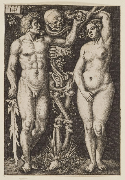 Hans Sebald Beham: Adam and Eve